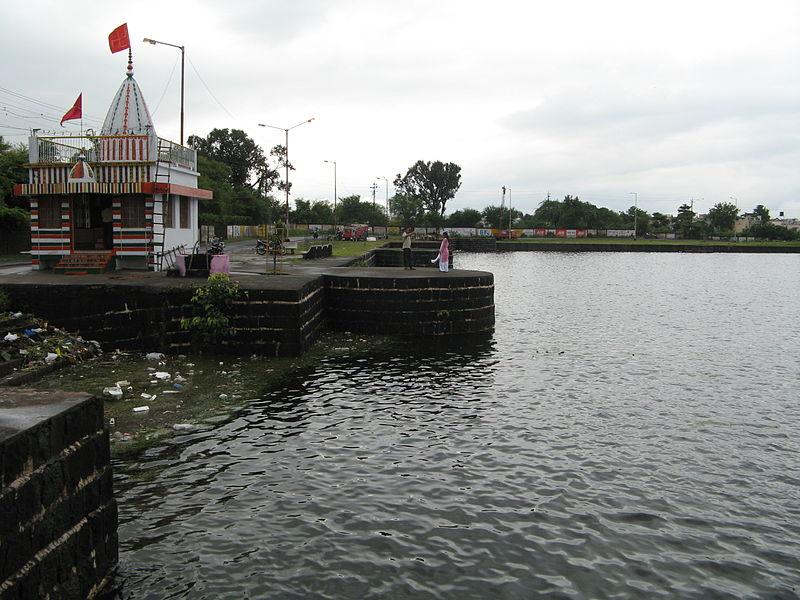Lake Sonegaon Temple