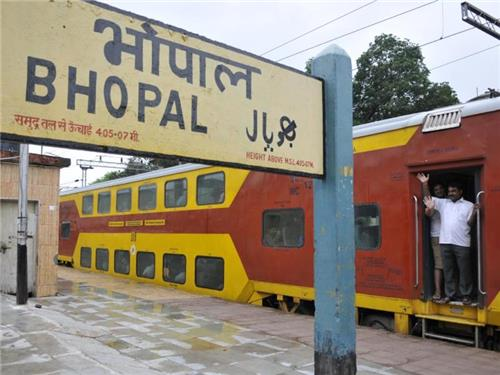 Bhopal Junction Train Station