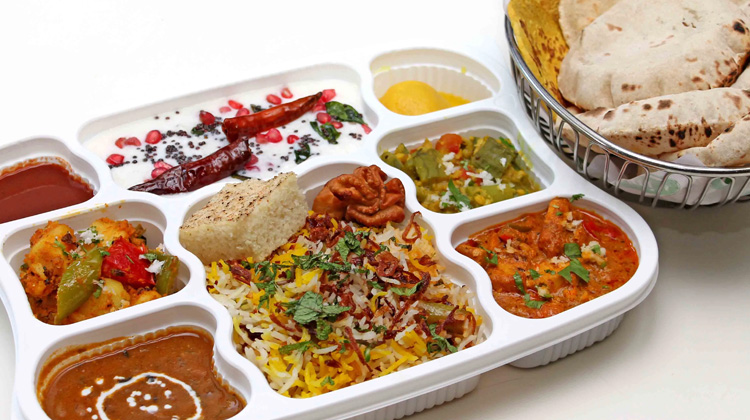 Image result for travelerfood.com Food delivery at Bhopal railway station