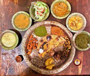 Chokhi-Dhani thali